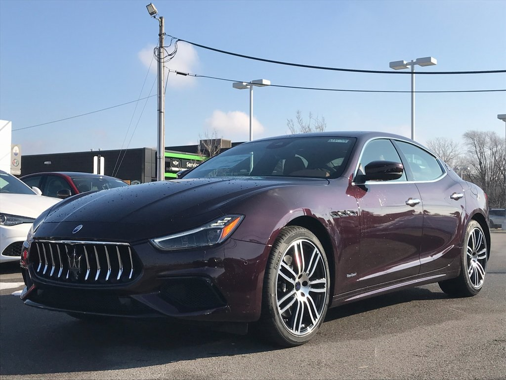 New 2019 Maserati Ghibli S Q4 GranSport